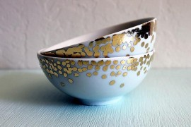 Gold bowl DIY project
