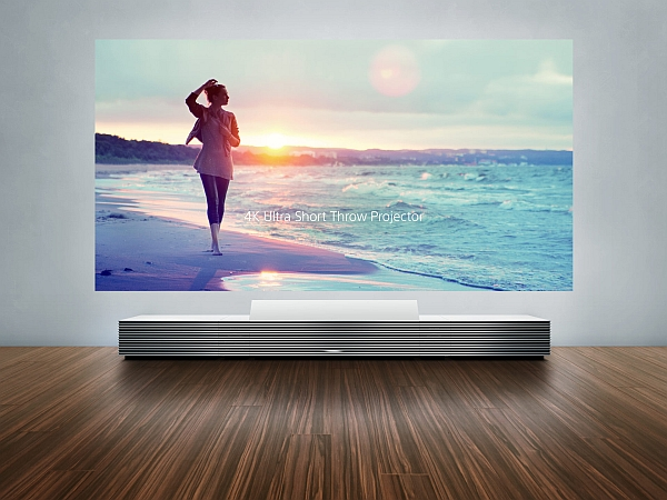 Goregous ultra HD projector from Sony