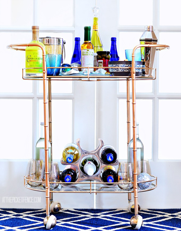 How-to-style-a-bar-cart-for-the-holidays