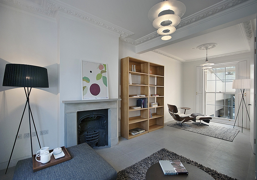 Modern extension to a victorian house in london comes with Modern victorian interior decorating