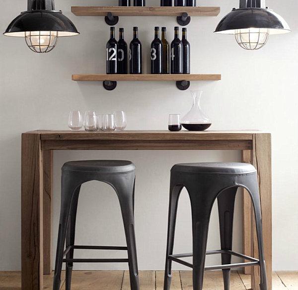 Key traits of industrial interior design for Classic furniture restoration