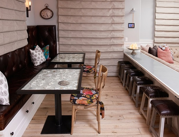 Ingenious take on an eclectic dining room