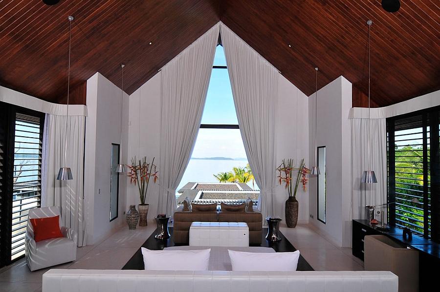 Interior of the exclusive villa in Thailand