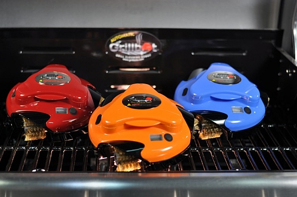 Keep your grill clean with the compact Grillbot