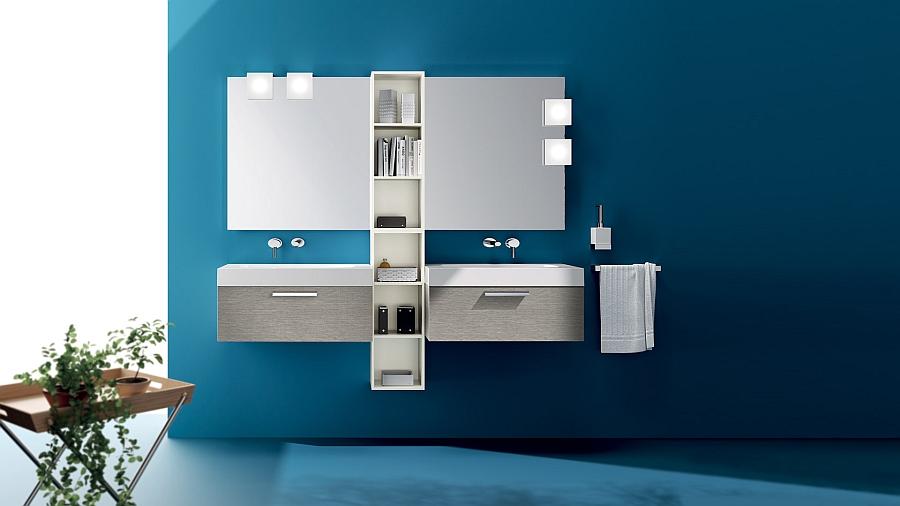 Keeping bathroom design simple and minimal