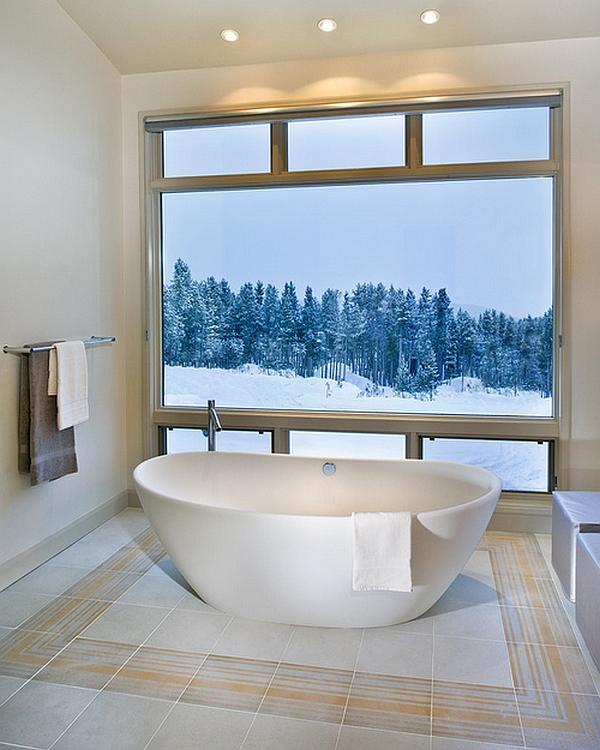 Bathtubs Designs hot bathroom trends: freestanding bathtubs bring home the spa retreat