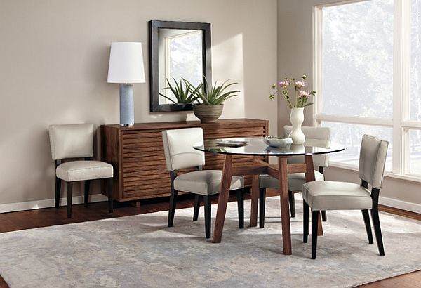 Love the sophisticated ambiance of this stylish space