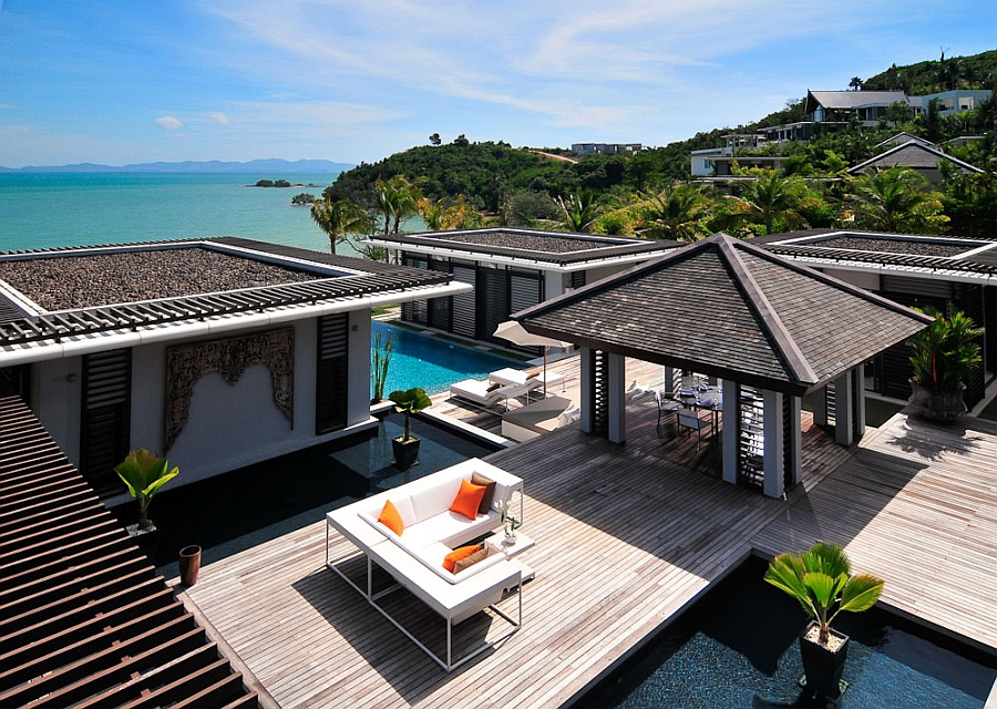 luxurious villa in thailand blends serene elegance with stunning sea views