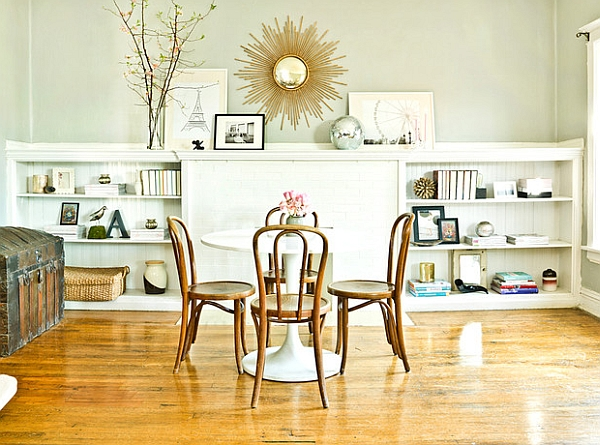 Make the dining area the focus of the room