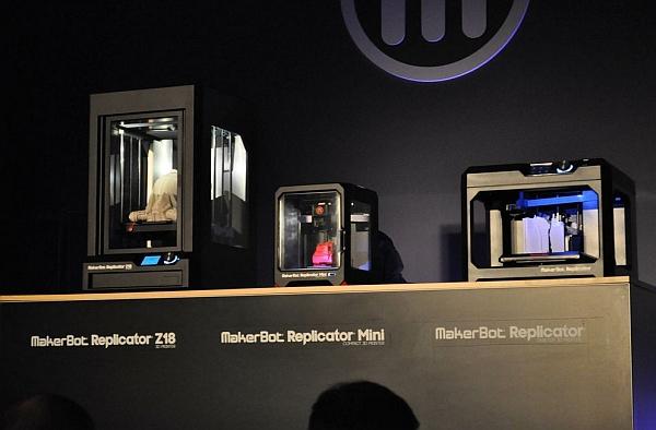 MakerBot Replicator Z18 Lineup