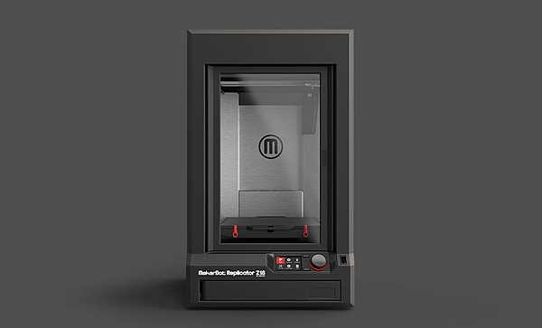 Makerbot Z18 3d printer prints home utensils and toys