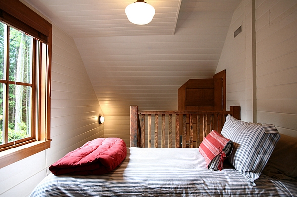 Making use of the attic space