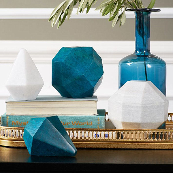 Marble geometric objects