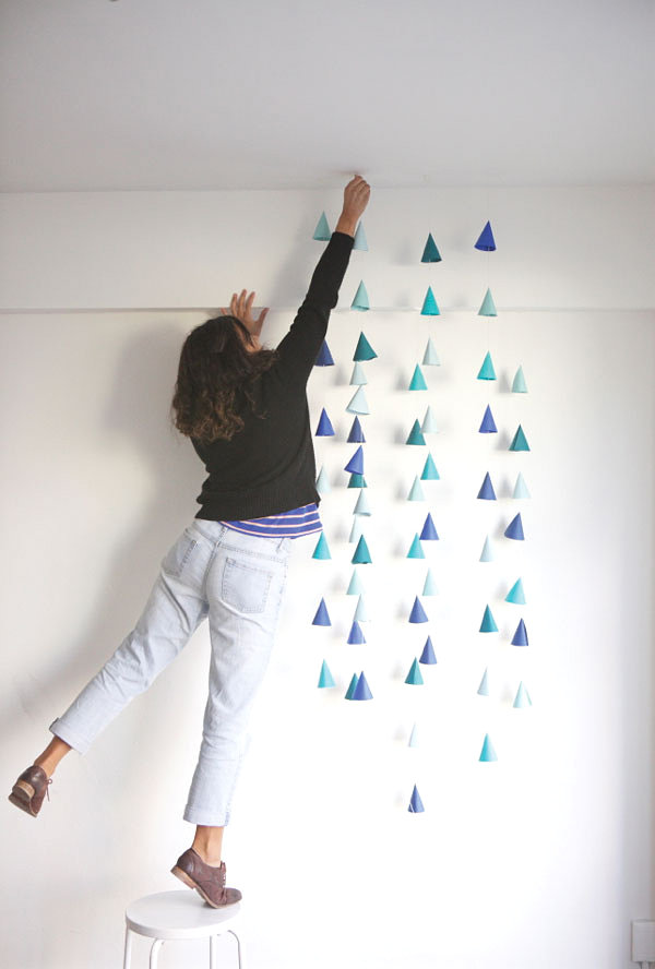 New Year Decoration Ideas For Home Part - 28: View In Gallery Mini Cone Decorations