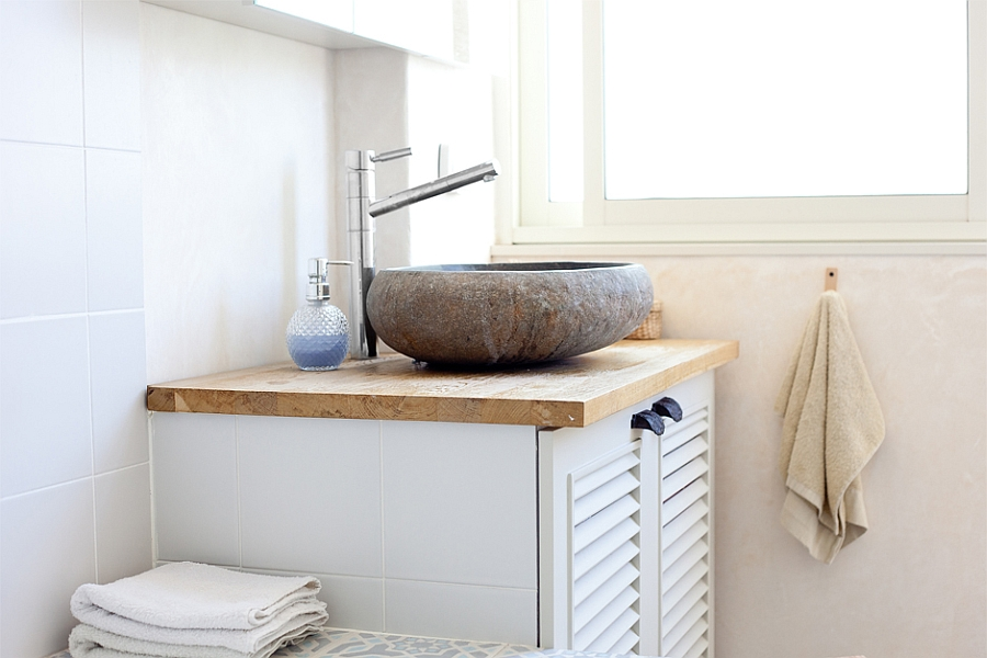 Minimal sink idea for the modern bathroom