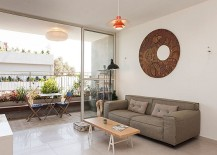 Stylish Seaside Apartment In Tel Aviv Gets A Gorgeous Green Makeover!