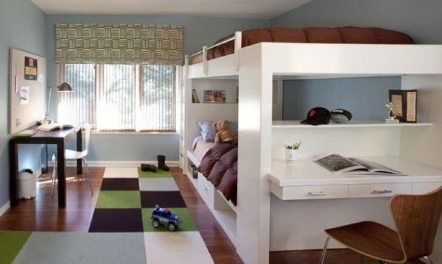 growing up with the kids in style bunk beds for him and her - Boys Room Ideas With Bunk Beds