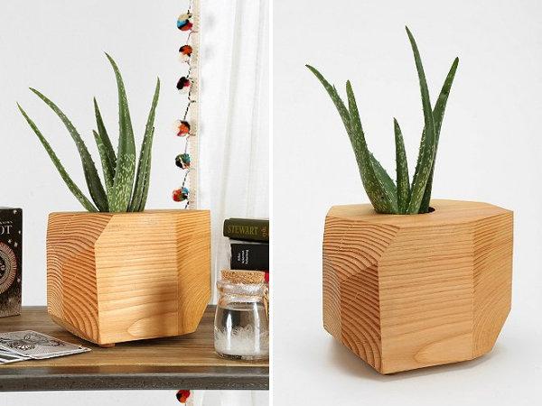 Modern geometric planter