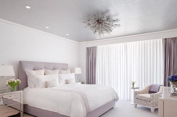 Modern lavender bedroom