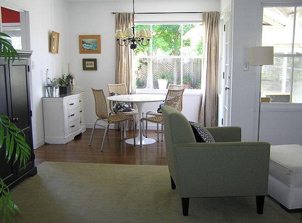 Small dining rooms that save up on space for Buffet salle a manger ikea