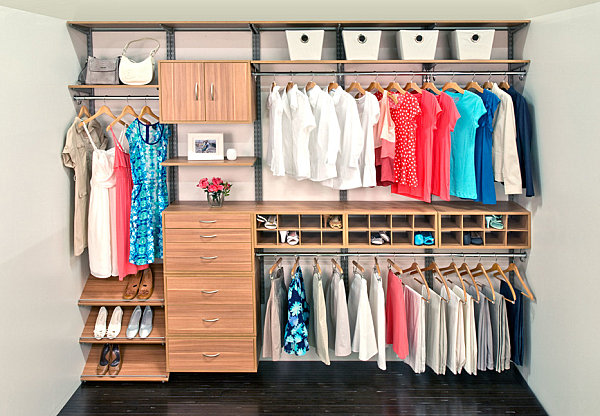 how to categorize your closet 1