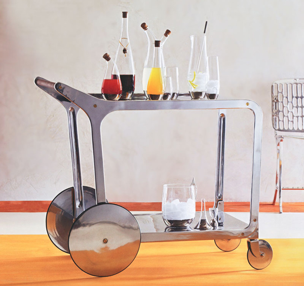 Nova 68 bar cart 12 Stylish Bar Carts With Amazing Design