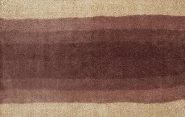 Ombre wool rug