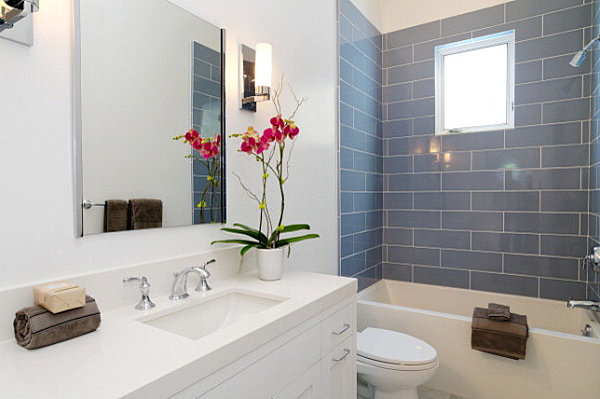 View In Gallery Orchids Are Ideal Bathroom Plants The Best Bathroom Plants  For Your Interior