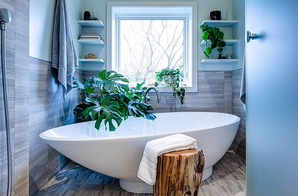 This project is very close to my heart; there seldom comes a client along  that lets you follow your heart's desire.An organic design for a bathroom  seems ...