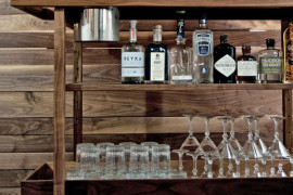 12 Stylish Bar Carts With Amazing Design