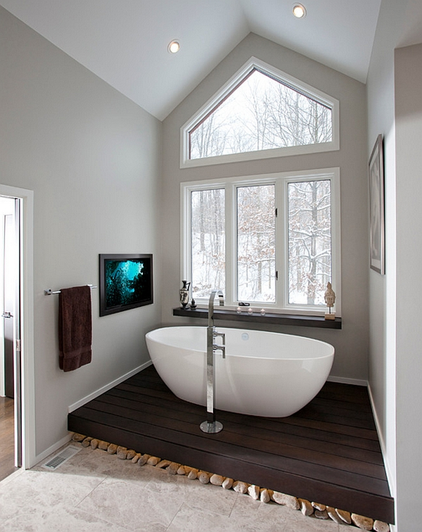 Picture-perfect use of the spacious nook