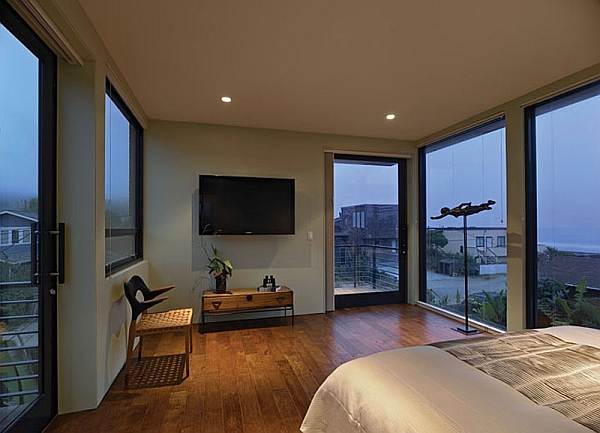 Plush bedroom with a modern vibe