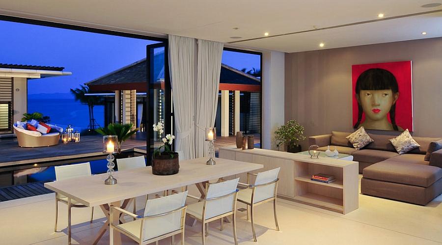 Romantic villa ambiance makes it an ideal honeymoon retreat