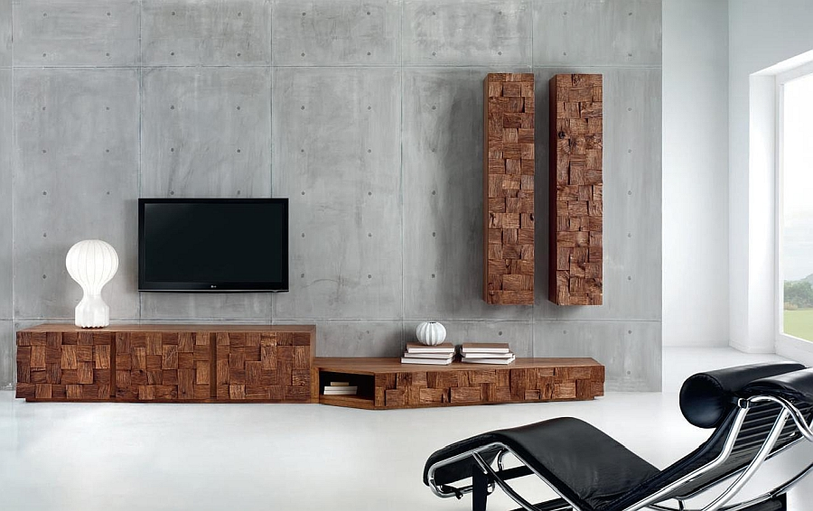 Scando Oak Collection by Domus Arte Organic And Sculptural Scando Oak Collection Offers Intricate Visual Contrast
