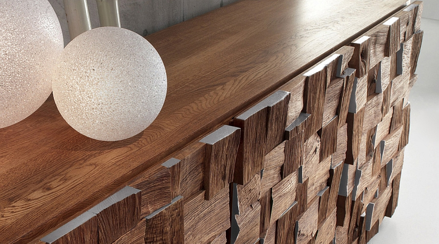 Scando Oak Collection offers visual and textural contrast