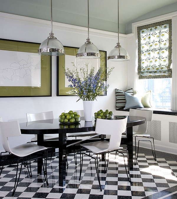 ... Modern White Dining Room Chairs