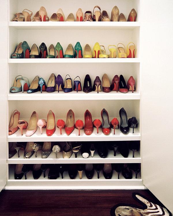 Shoe storage strategy