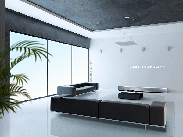 Sleek and stylish design of the 4K Ultra Short Throw Projector