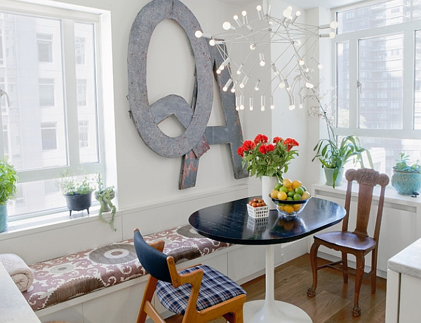 Small dining room dea for the modern studio apartment