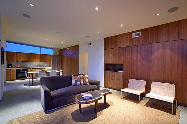 Small space design idea for prefab homes