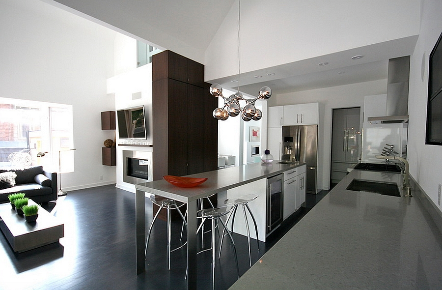 Smart modern kitchen in Grey