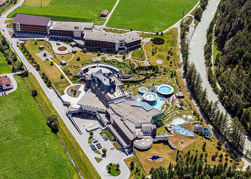 Spectacular resort with lavish spa and pool Dramatic Austrian Resort Astonishes With Opulence Draped In Alpine Magic!