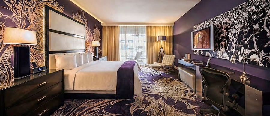 Stay like a rock star at the Hard Rock Hotel