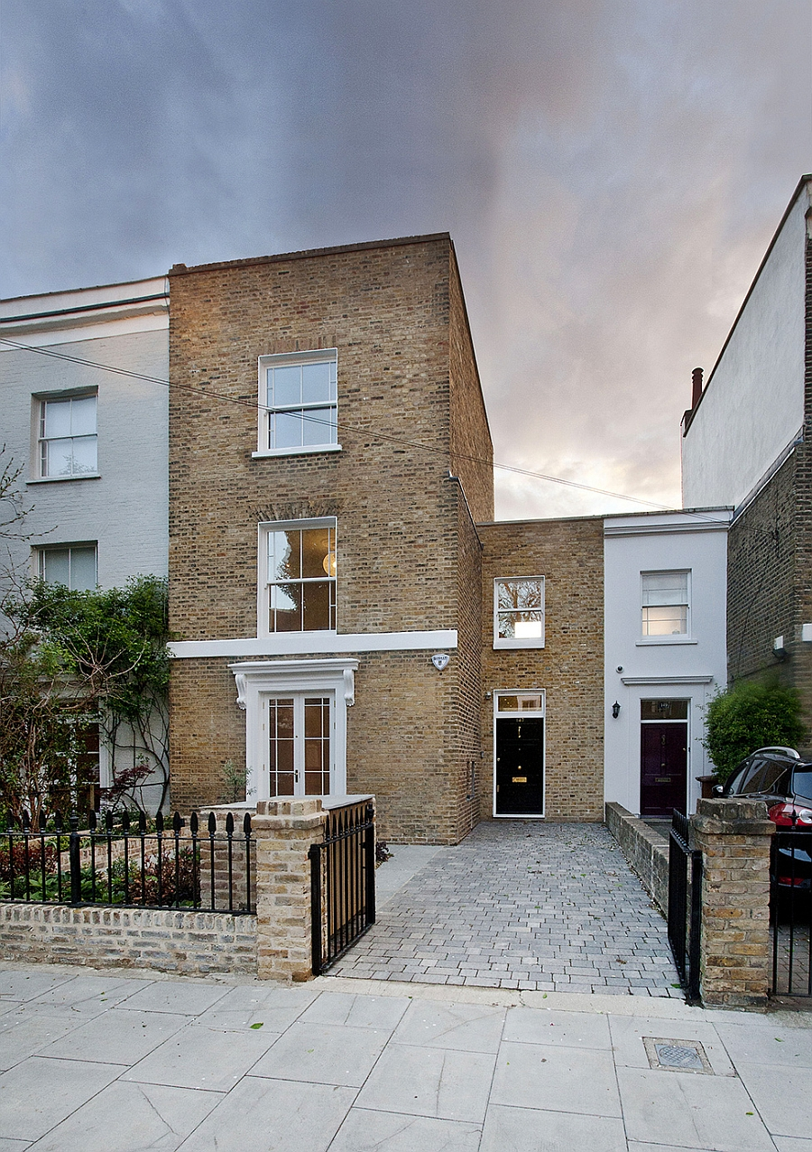Modern extension to a victorian house in london comes with for New contemporary houses