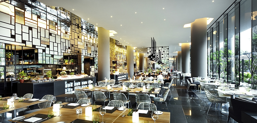 view in gallery stunning restaurant at the gorgeous parkroyal in singapore