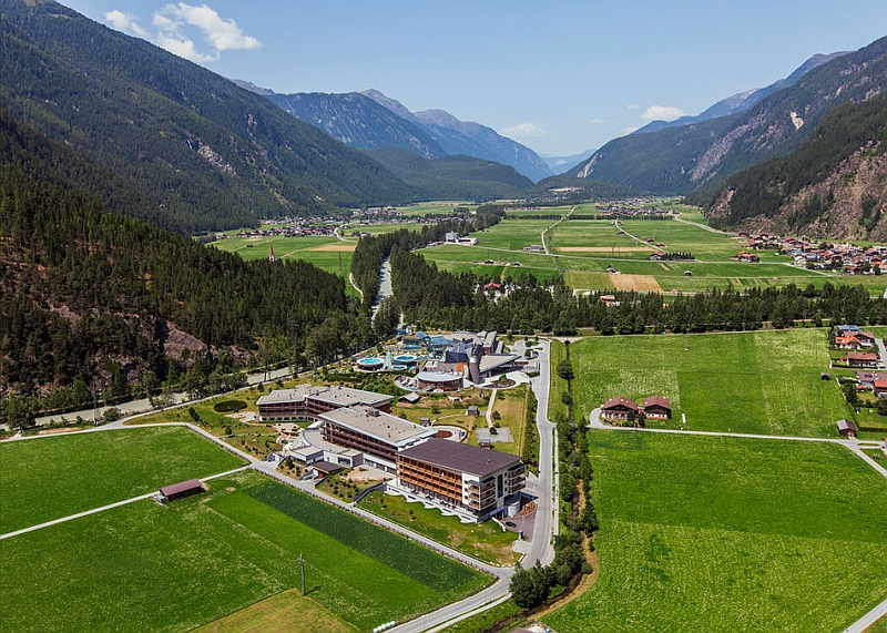 Stunning valley surrounds the Austrian Resort