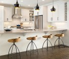 Stylish bar stools for contemporary home