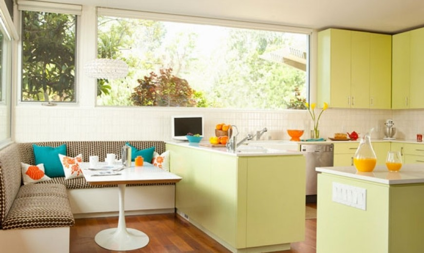 Oh! That's An Adorable Kitchen Nook!