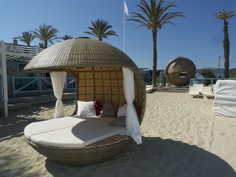 Stylish outdoor lounging with Cocoon Beach
