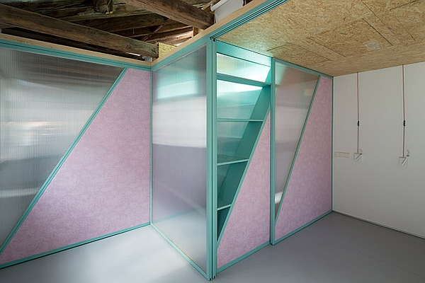 Stylish partitions in the living space